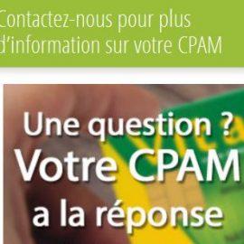 Trouvez sur www.cpam-info.fr les adresses des CPAM de tous les départements français